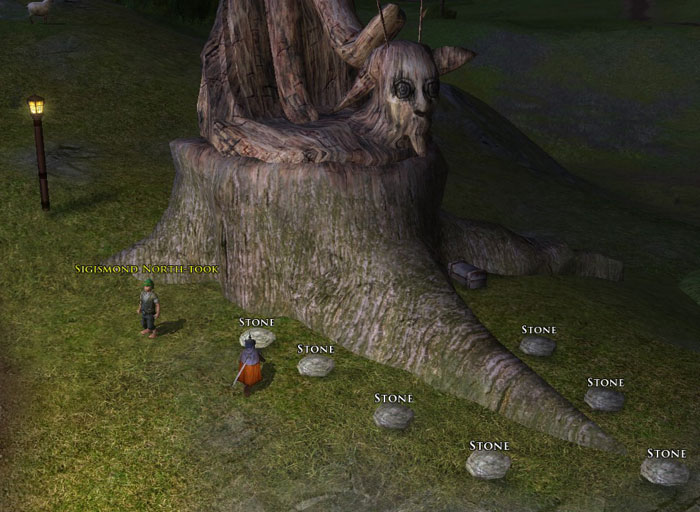 Screenshot of LotRO Spring Festival Quest 2