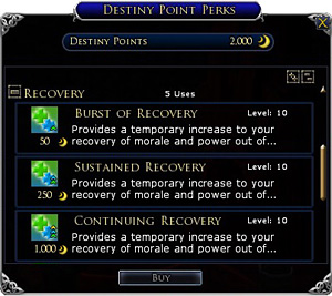 Destiny Points