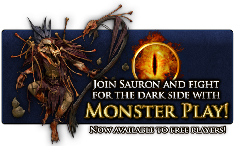 What is Monster Play in Lord of the Rings Online?