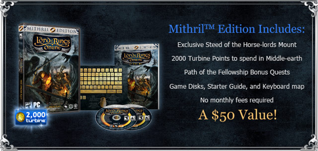 lotro mithril edition