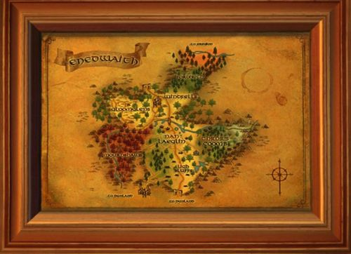 Enedwaith Map