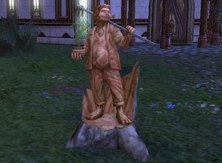 Harvest Statue