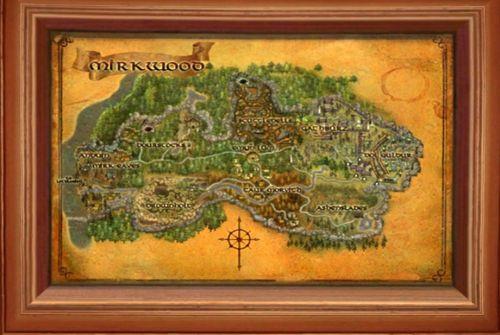 Mirkwood Map