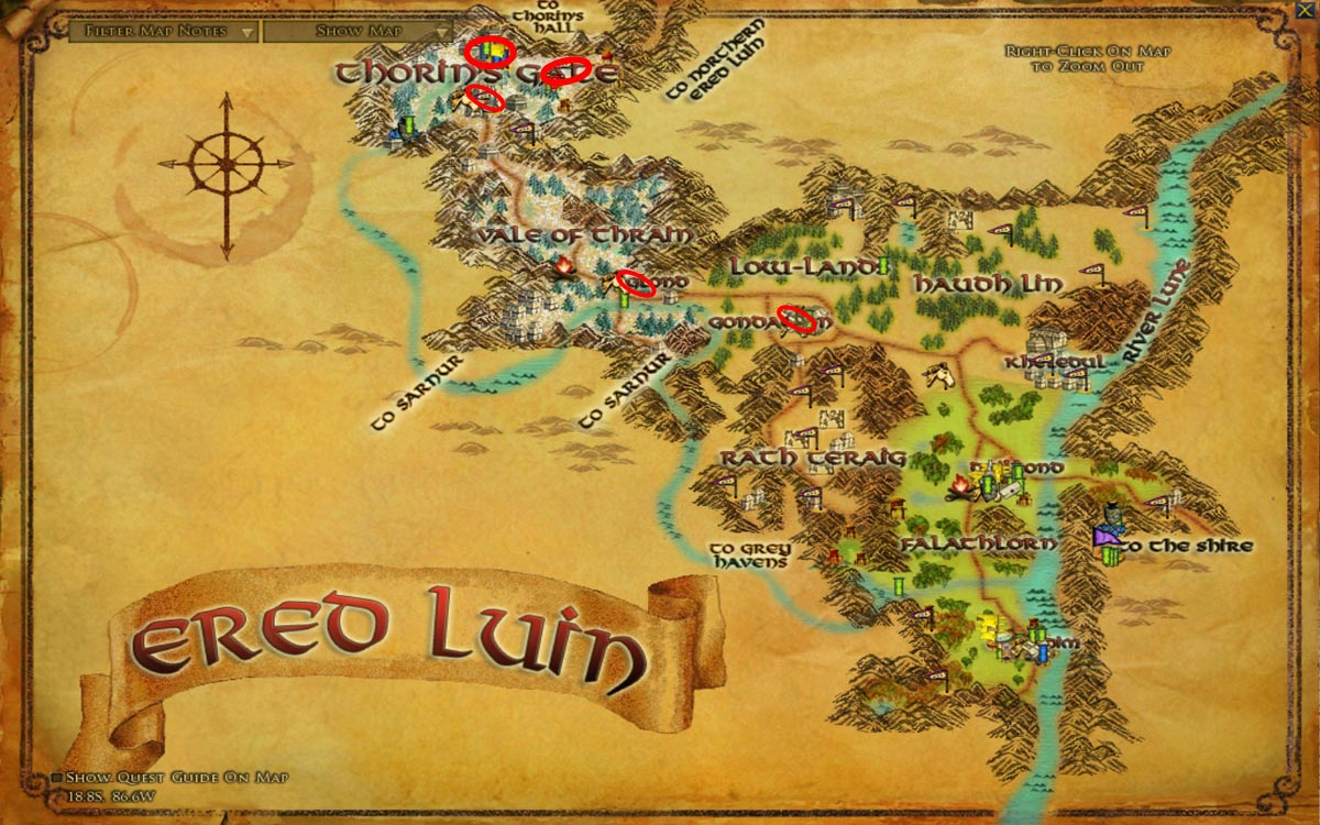 Quick-Level Guide Level 1-65 - Wonderful Places in LOTRO's ...