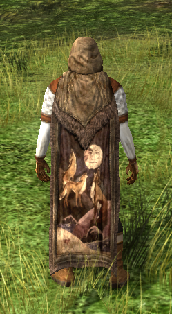 Hooded Cloak Of The Mountain Wolves